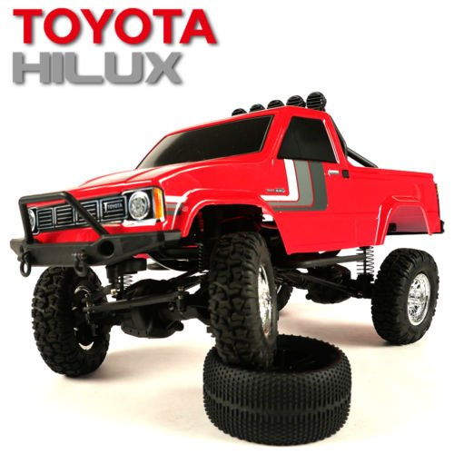 Thunder Tiger TOYOTA HILUX 1/12 PICK-UP TRUCK RTR (RED)