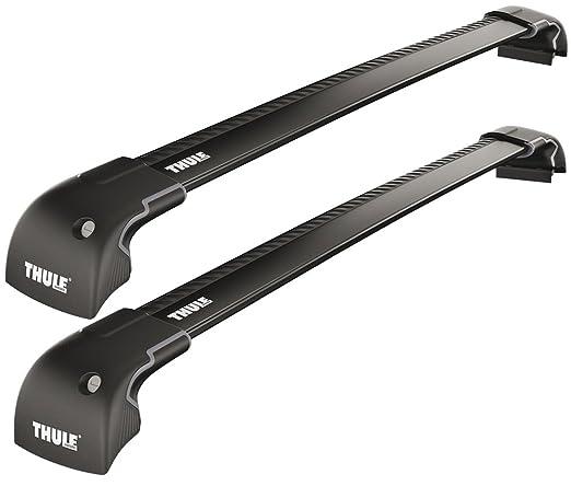 2 opinioni per Thule 959520 Coppia Barre Wingbar Edge Nere 9595B Fixpoint/Flushrail M+L