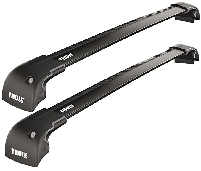 91 opinioni per Thule 959220 Wingbar Edge Fixpoint/Flushrail, Nero. S/M, 2 Pezzi
