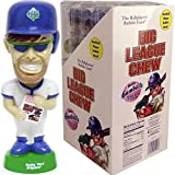 Big League Chew® Bubble Gumballs with Baseball Player Bobble Head - 12 Packs Case