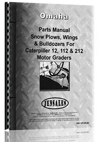 (Omaha all Snow Plows, Snow Wings, Bulldozers Parts Manual Catalog [Jan 01, 2017] Omaha )