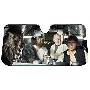 Plasticolor 003700R01 Star Wars Accordion Sunshade
