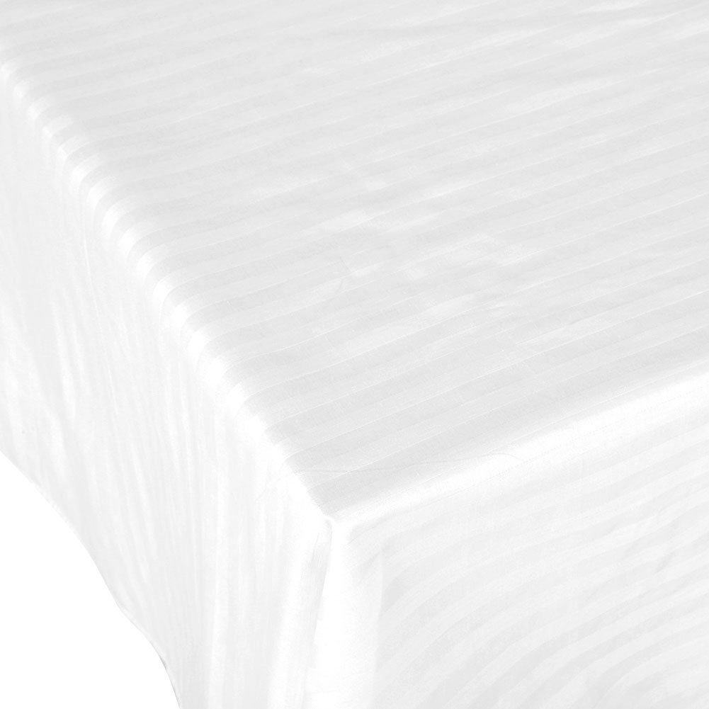 120/×190CM Solid Color Stripe Pattern for Professional Salon or Home Use Cotton Solid Color Sheets