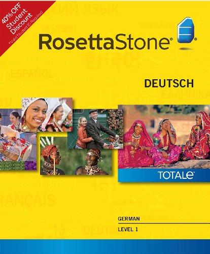 Rosetta Stone German Level 1 - Student Price (Mac) [Download]