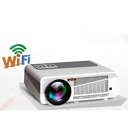 WXJHA Digital HD Proyector LCD WiFi Android 6.0 HD 3D LED ...