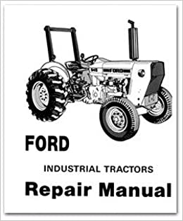 Book JS-FO-S-230A-231 Ford 230A-545A Gas & Diesel Tractor Service Manual