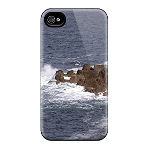 Premium Rocks Heavy-duty Protection Case For Iphone 4/4s