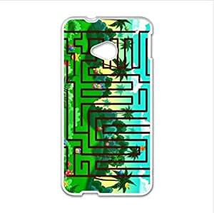 Best seller Personalized Design Case - Maze HTC One M7 (Laser Technology) Case, Cell Phone Cover