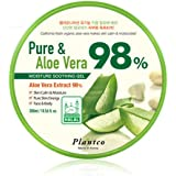 [PLANTCO] Pure & Aloe Vera 98% Moisture Soothing Gel 300ml / Halal Certified/Face, Body, Hair Moisturizing