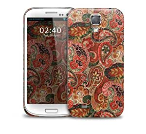 Autumn paisley pattern Samsung Galaxy S4 GS4 protective phone case