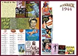 1944 Flickback DVD Greeting Card: Birthday Gift or Anniversary Gift