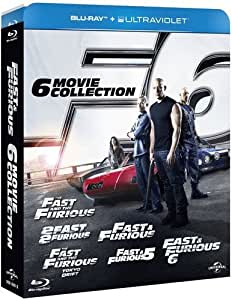Fast & Furious: The 6-Movie Collection [Blu-ray][Region-Free]
