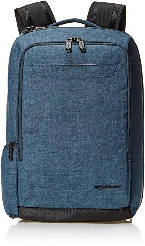 AmazonBasics Slim Carry On Laptop Travel Overnight Backpack - Green