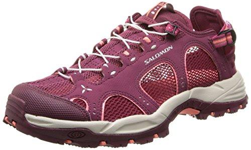 Salomon Techamphibian 3 Damen Sneakers Violett (Bordeaux/Carmine/Melon Bloom)