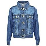 A2Z 4 Kids Kids Girls Jackets Trendy Jeans Stylish Denim Coats - Girls Denim Jacket J12 Light Blue_9-10