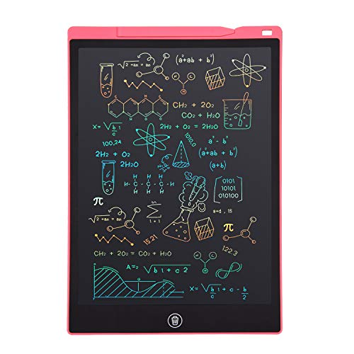 LCD Writing Tablet, Electronic Digital Writing &Colorful Screen Doodle Board, cimetech 12-Inch Handwriting Paper Drawing…