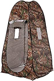 Decoe Portable Privacy Shower Toilet Tent Camping Pop Up Tent Camouflage Changing Tent