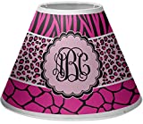 RNK Shops Triple Animal Print Empire Lamp Shade (Personalized)