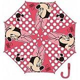 Paraguas Disney Minnie Rosa de 48 cm