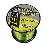 Zebco / Quantum BCAT20Q, Big Cat Line, 660 yd.016″ Diameter, 20 Lbs Tested, Hi-VIS Yellow & Low-Vis Moss Green Review
