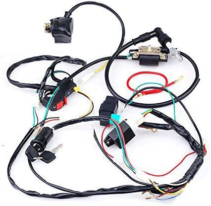 Custom Waterproof Bike Wiring Harness