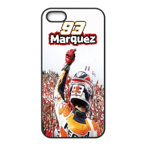 Marc Marquez Phone Case And One Free Tempered-Glass Screen Protector For iPhone 5,5S T238070