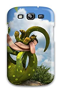 Mary P. Sanders's Shop New Premium Funny 3d Chameleon Skin Case Cover Excellent Fitted For Galaxy S3 2596974K47273620