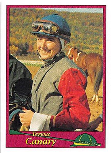 Teresa Canary trading card (Horse Racing) 1994 Jockey Star #13