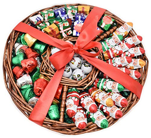 Gift Universe Christmas Gift Basket 1 5 Lbs Madelaine Chocolate Variety Premium Gift Tray For Family Friends