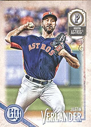 e860647fe9b Amazon.com  2018 Topps Gypsy Queen Baseball  265 Justin Verlander ...