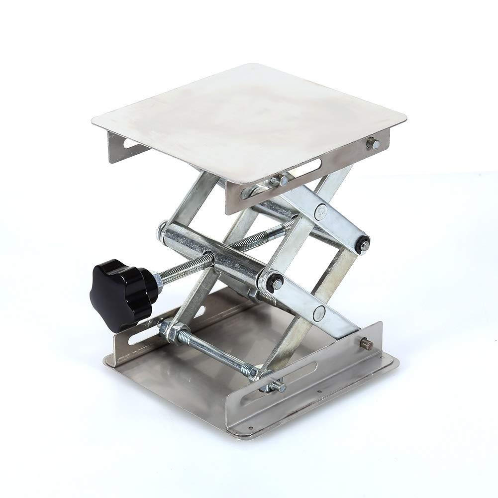 Aeloa Lab-Lift Lifting Platforms Stand Rack Scissor Stainless Steel 100X100mm