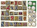 30 MLB Stickers Complete Set. Plus 24 Mini Baseball Stickers. Major League Baseball Team Logo Pack. Yankees Red Sox Dodgers Cubs Giants Tigers White Mets Angels Indians Rangers Pirates Astros Brewers