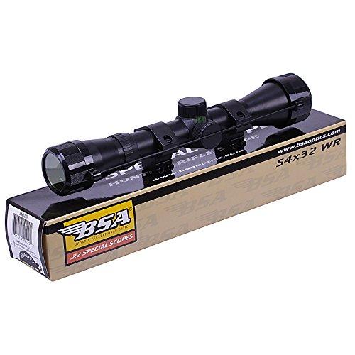 BSA WR 4x32 Telescopic Air Gun Rifle Scope Sight Supplied With 11mm 3/8'...