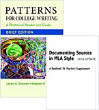 Patterns for College Writing, Brief 13e and Documenting Sources in MLA Style 13th Edition