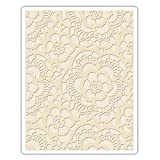 Sizzix 661824 Texture Fades Embossing Folder Lace