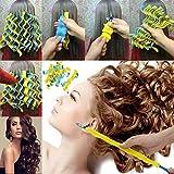 Simple Curlers DIY Wave Curlers Formers Leverage Spiral Hairdressing Tool