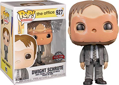 POP! Funko Television -The Office Dwight Schrute (with Mask) Exclusive