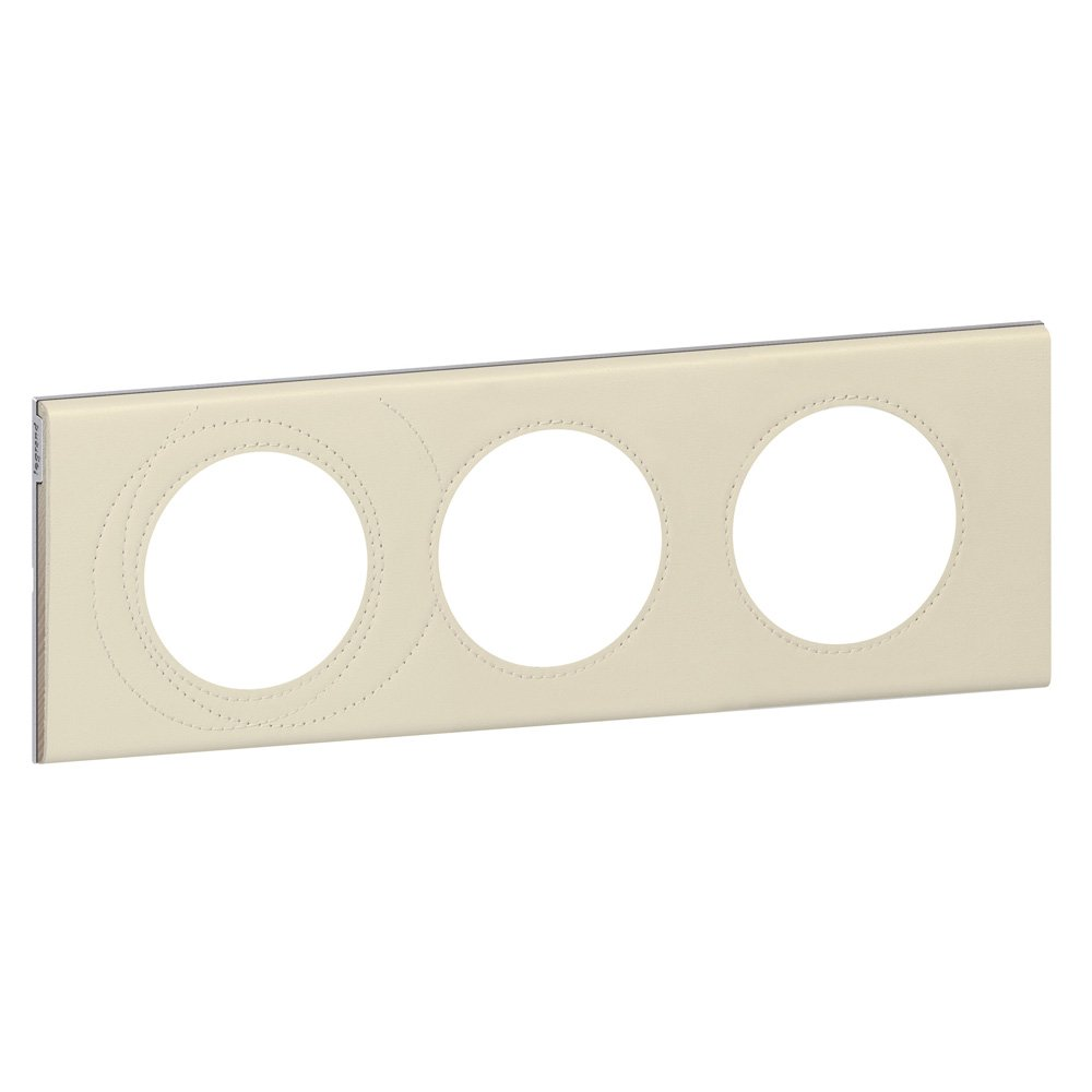 Legrand LEG69401 C/éliane2 Plaque avec 1 poste Cuir Texture
