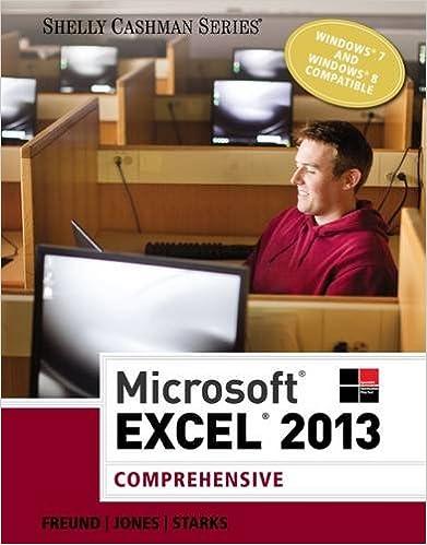 Microsoft Excel 2013: Comprehensive (Shelly Cashman Series ...