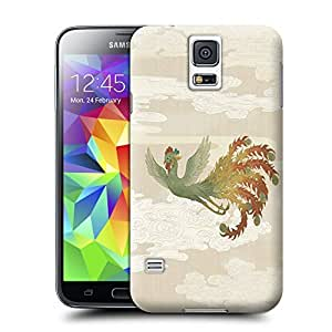 Unique Phone Case Spirituality animal figure Phoenix Hard Cover for samsung galaxy s5 cases-buythecase