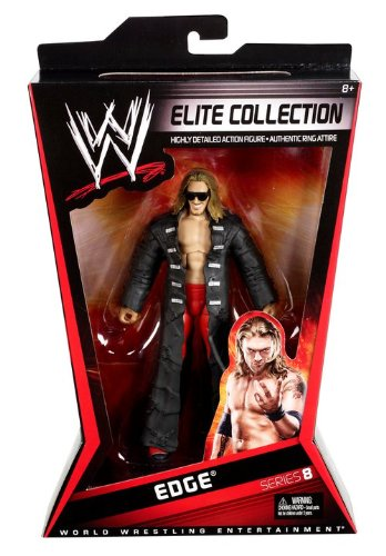 WWE Elite Collector Edge Figure Series #8 by Mattel