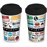 Friends - Tazza di ceramica da viaggio, iconografica