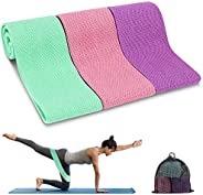 Resistance Bands, TEUMI Fabric Workout Bands for Legs/Butt/Thigh, Strength Training Elastic Booty Bands, Wide