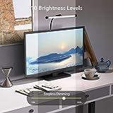 YOUKOYI LED Desk Lamp with Clamp, Flexible