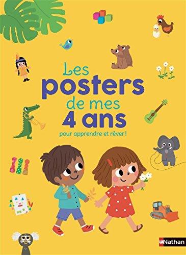 Les posters de mes 4 ans pour apprendre et rêver !