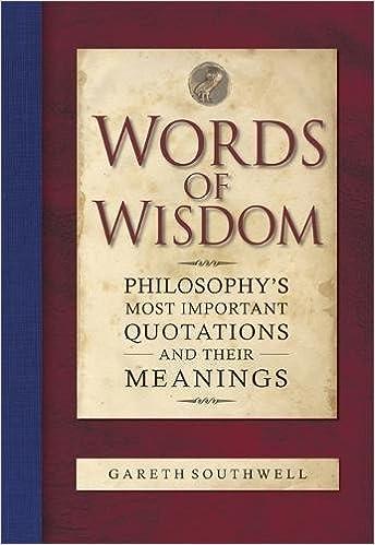 Words Of Wisdom Book