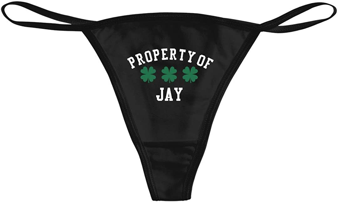 St Pattys Property of Jay Bella Bikini Thong Underwear