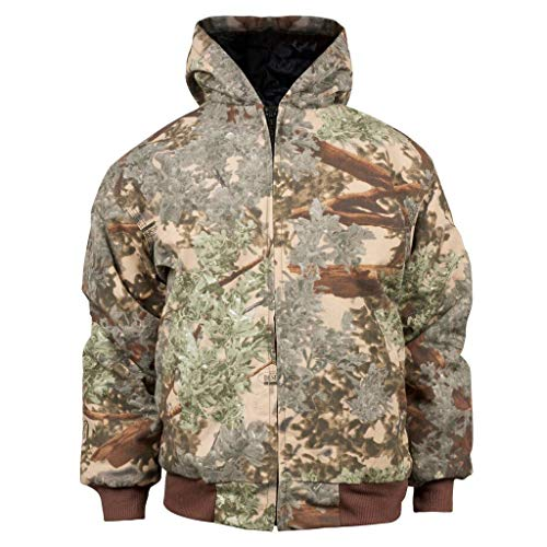 - King's Camo Youth Insulated Hooded Hunting Jacket, Large