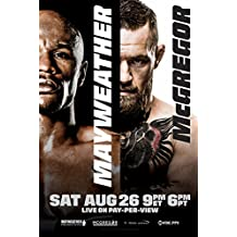 Floyd Mayweather Jr. vs Conor McGregor Boxing Poster 24x36