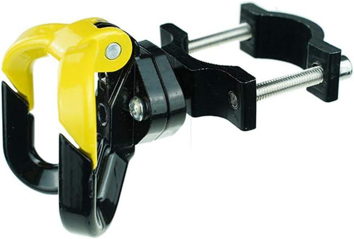 lxw nicht null ORETG45 Rollerhaken Aufh/änger f/ür Elektro-Scooter 62x32mm A-schwarz